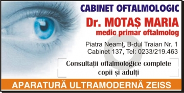 CABINET MEDICAL OFTALMOLOGIC DR. MOTAS MARIA